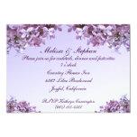 Lilac Wedding Reception