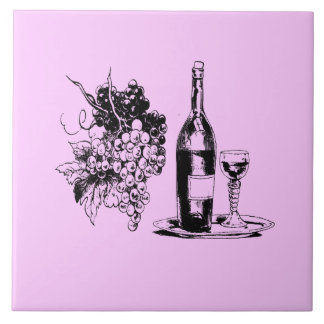 LILAC WINE TILE