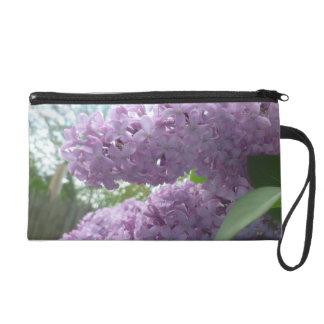 Lilac wristlet