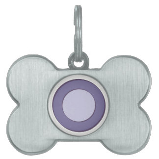 LilacInPurple Dots Pet Name Tag