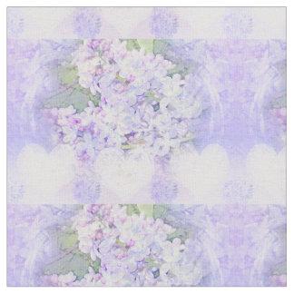 Lilacs and Hearts Fabric