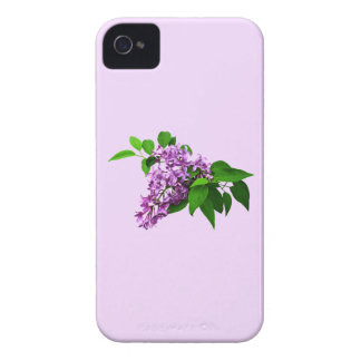 Lilacs and Leaves iPhone 4 Case-Mate Case