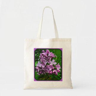 Lilacs Budget Tote Bag