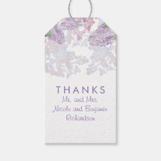Lilacs - Floral Watercolors Elegant Wedding