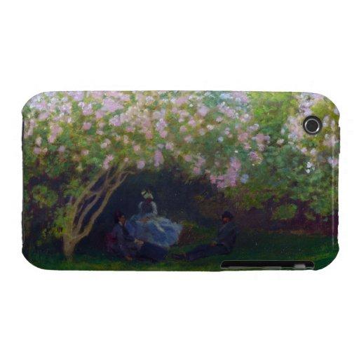 Lilacs, Grey Weather Claude Monet iPhone 3 Case-Mate Case