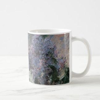 Lilacs in a Window Cassatt Vintage Impressionism Coffee Mug
