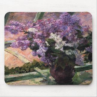 Lilacs in a Window, Mary Cassatt Mousepad