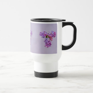 Lilacs in Springtime Stainless Steel Travel Mug
