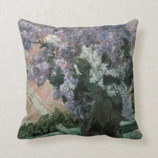 Lilacs in the Window Cushion