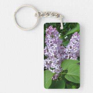 Lilacs Key Chain