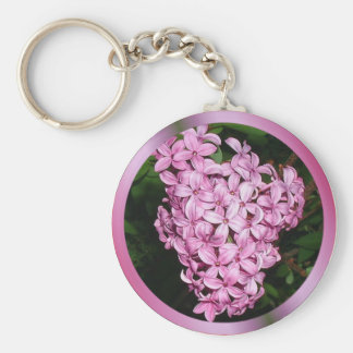 Lilacs Key Ring