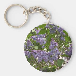Lilacs Keychain