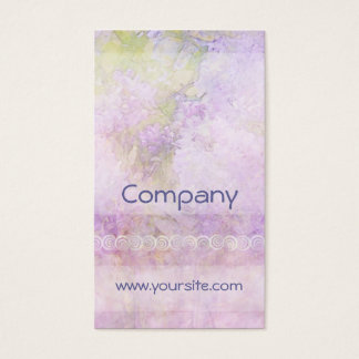 Lilacs & Lace Light Business Card