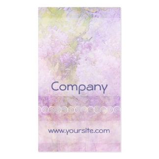 Lilacs & Lace Light Pack Of Standard Business Cards