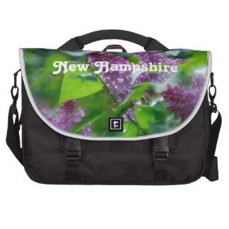 Lilacs Computer Bag