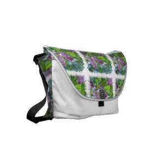 Lilacs Messenger Bag