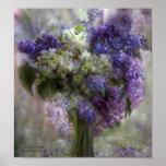 Lilacs Of Love Art Poster/Print Poster