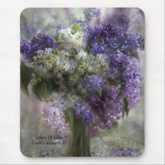 Lilacs Of Love Mousepad