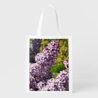 Lilacs reusable bags