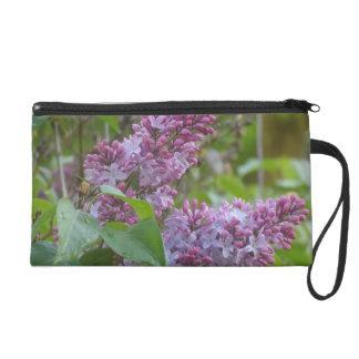 Lilacs Wristlet Clutch