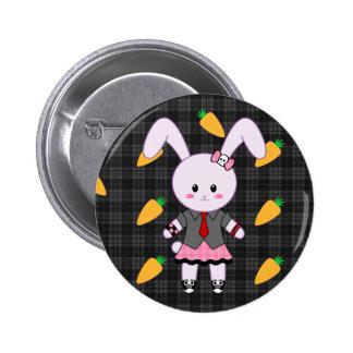 Lil'Bunny Punkish Button