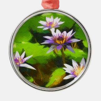 lilie christmas ornament