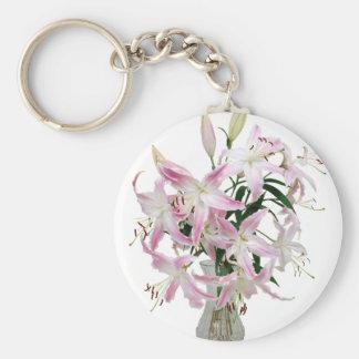 Lilies051409 Key Ring