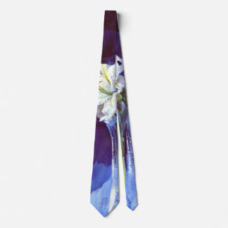 Lilies 1900 tie