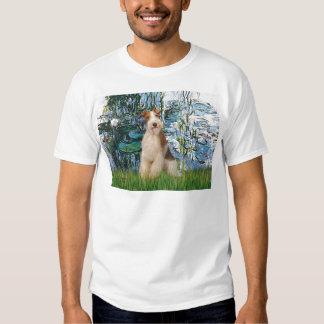 Lilies 1 - Wire Fox Terrier 3 Shirt