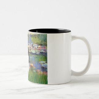 Lilies 2 - Japanese Chin 3 Mug