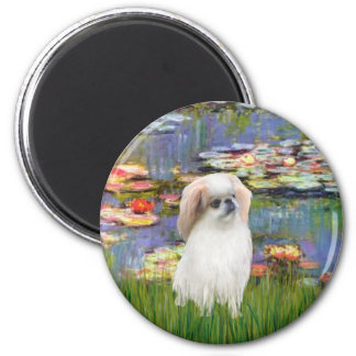 Lilies 2 - Japanese Chin (L2) Magnet
