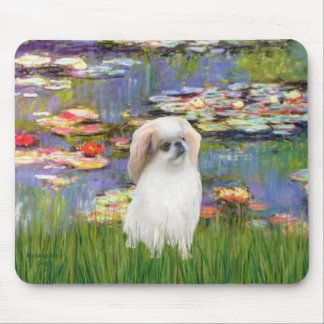 Lilies 2 - Japanese Chin (L2) Mouse Pad