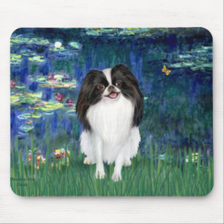 Lilies 5 - Japanese Chin 3 Mouse Mat