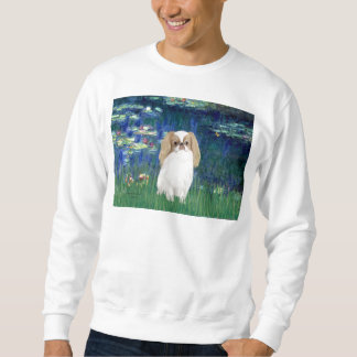 Lilies 5 - Japanese Chin (L1) Sweatshirt