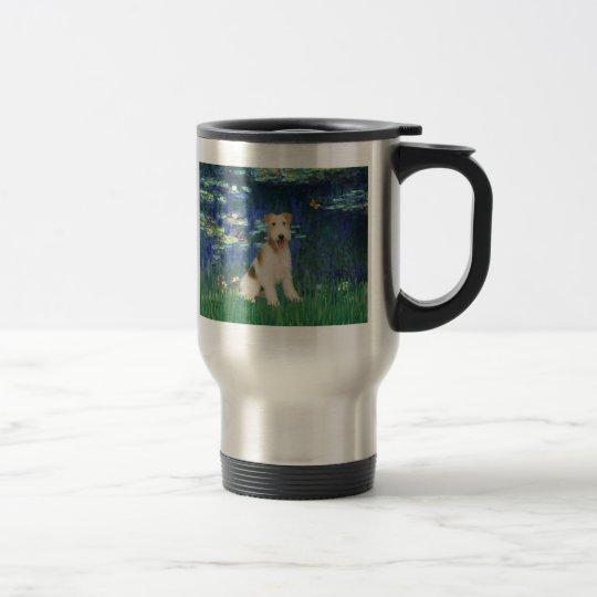 Lilies 5 - Wire Fox Terrier #1 Travel