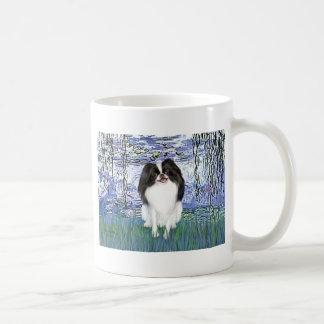 Lilies 6 - Japanese Chin 2 Basic White Mug