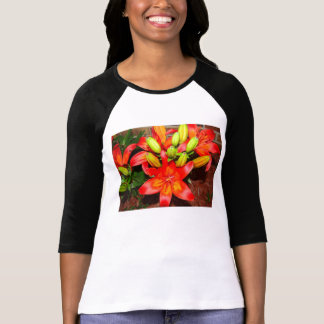 Lilies Afire Shirts