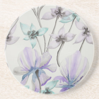 Lilies and Orchids Beverage Coasters