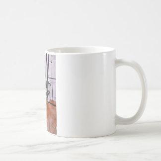 Lilies and Terracotta Coffee Mug