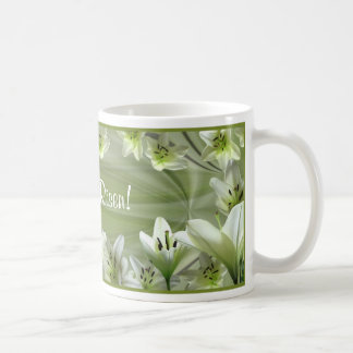 Lilies for Easter! Basic White Mug