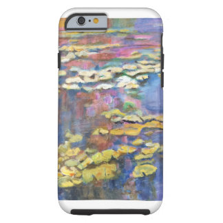 Lilies in a pond tough iPhone 6 case