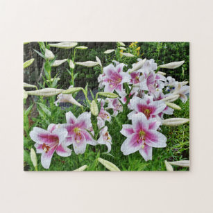 Lilies in the Field Jigsaw Puzzle