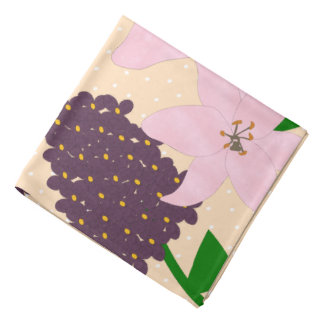 Lilies & Lilacs Bandana