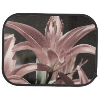 Lilies-Muted Tones by Shirley Taylor Car Mat