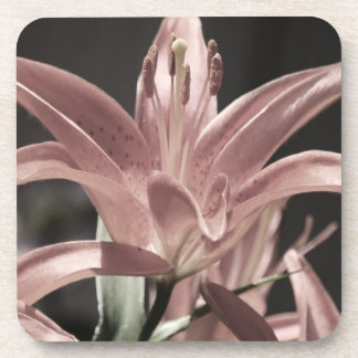 Lilies-Muted Tones by Shirley Taylor Coaster