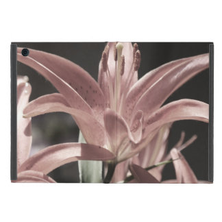 Lilies-Muted Tones by Shirley Taylor Cover For iPad Mini
