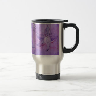 lilies of the song stainless steel travel mug