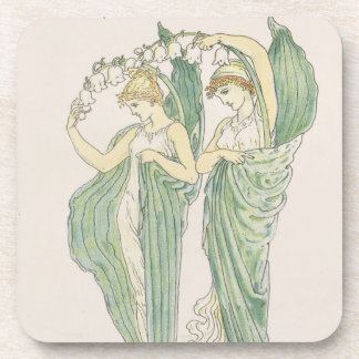Lilies of the Vale, from Flora's Feast, 1901 (colo Drink Coaster