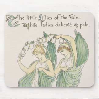 Lilies of the Vale, from Flora's Feast, 1901 (colo Mouse Mat
