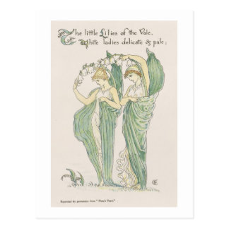 Lilies of the Vale, from Flora's Feast, 1901 (colo Postcard